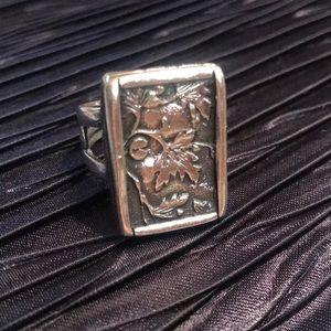🌟RARE🌟SILPADA .925 Sterling Silver Vine Ring